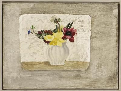 Spring Flowers in a White Jar, c.1928-Christopher Wood-Giclee Print
