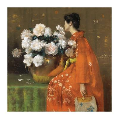 Spring Flowers-William Merritt Chase-Art Print
