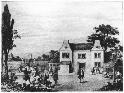 Spring Gardens, Site of Lowndes Square, London, C Late 18th Century--Giclee Print