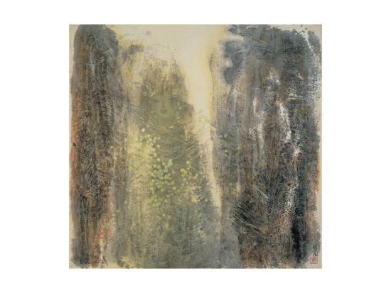 Spring Girl-Yunlan He-Giclee Print