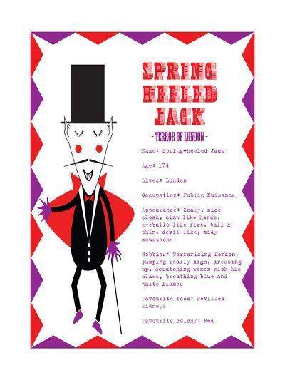 Spring Heeled Jack-Nicole Thompson-Giclee Print