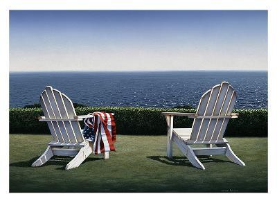 Spring House View-Daniel Pollera-Art Print
