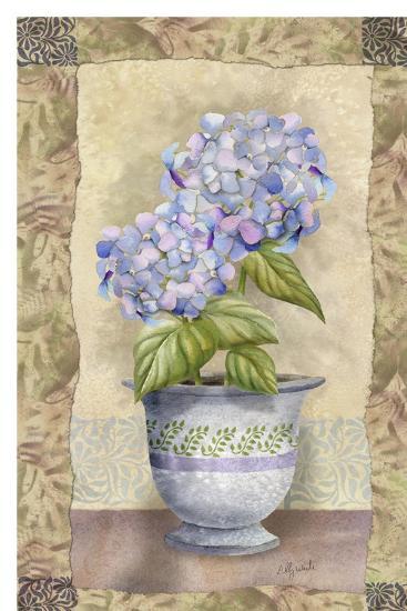 Spring Hydrangea-Abby White-Art Print
