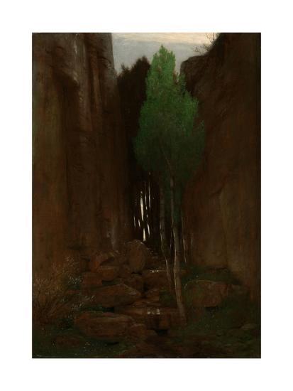 Spring in a Narrow Gorge, 1881-Arnold B?cklin-Giclee Print