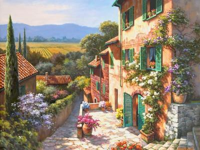 Spring in the Valley-Sung Kim-Art Print