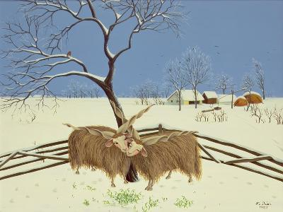 Spring in Winter, 1987-Magdolna Ban-Giclee Print