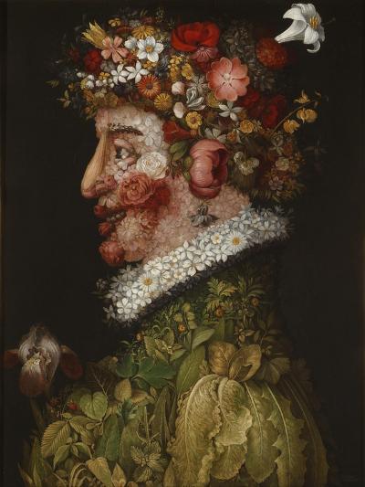 Spring (La Primaver)-Giuseppe Arcimboldo-Giclee Print