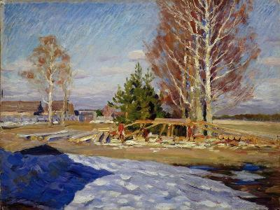 Spring Landscape, 1915-Sergei Arsenyevich Vinogradov-Giclee Print