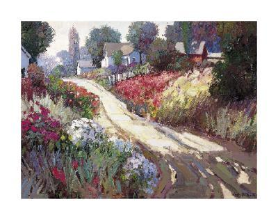 Spring Lane-Kent Wallis-Art Print