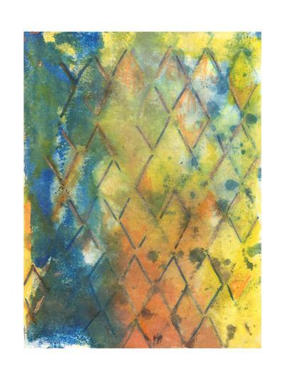 Spring Lattice II-Joyce Combs-Art Print
