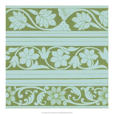 Spring Leaf Motif II--Giclee Print