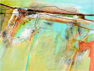 Spring lines-Carole Malcolm-Art Print