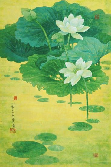 Spring Lotus-Ailian Price-Art Print