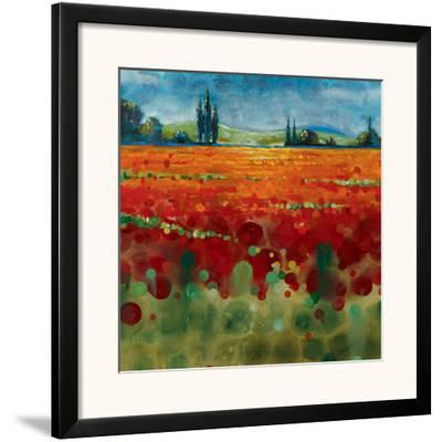 Spring Meadows II-Selina Werbelow-Framed Art Print