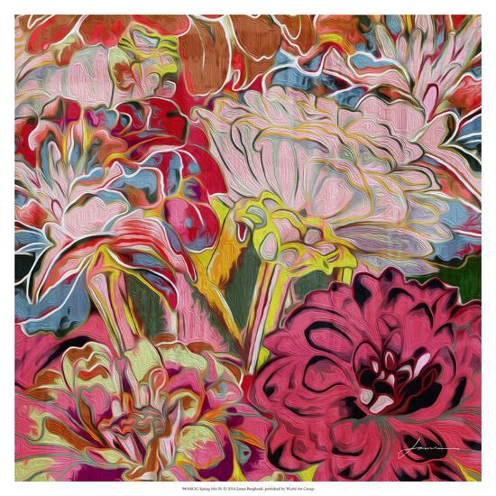 Spring Mix IV-James Burghardt-Art Print