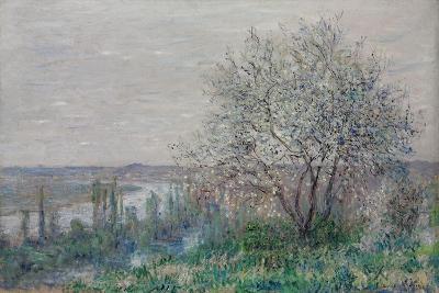 Spring mood, Vétheuil. 1880-Claude Monet-Giclee Print