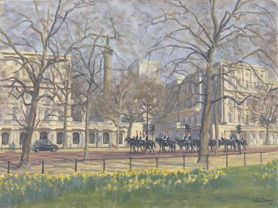 Spring Morning, the Mall, 2010-Julian Barrow-Giclee Print
