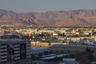 Spring Mountains, Red Rock Canyon, Las Vegas Metropolitan Area, Nevada, Usa-Rainer Mirau-Photographic Print