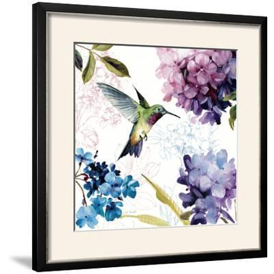 Spring Nectar Square II-Lisa Audit-Framed Photographic Print