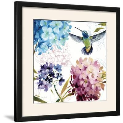 Spring Nectar Square III-Lisa Audit-Framed Photographic Print