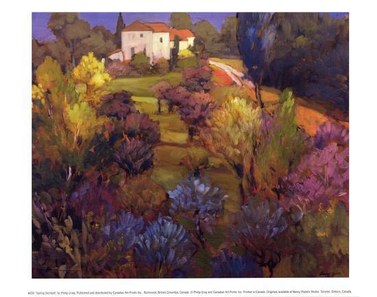 Spring Orchard-Philip Craig-Art Print