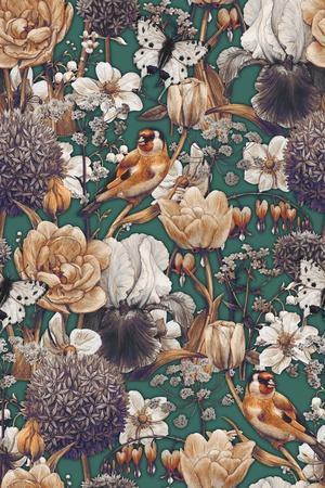 Spring Pattern-Maria Rytova-Giclee Print