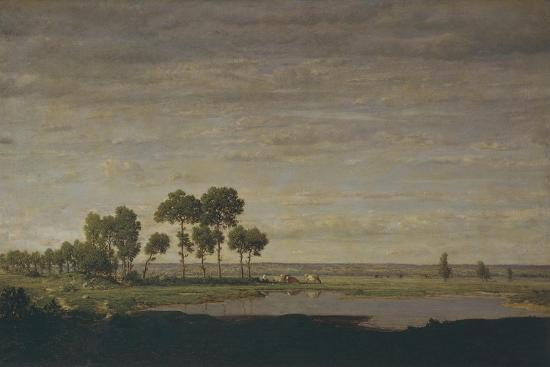 Spring, Pond, 1852-Th?odore Rousseau-Giclee Print