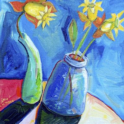 Spring's First Blooms-Sara Catena-Giclee Print