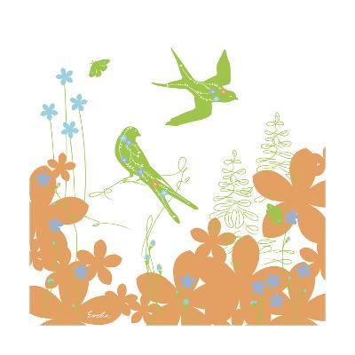 Spring's Sweet Spell II-Evelia Designs-Art Print