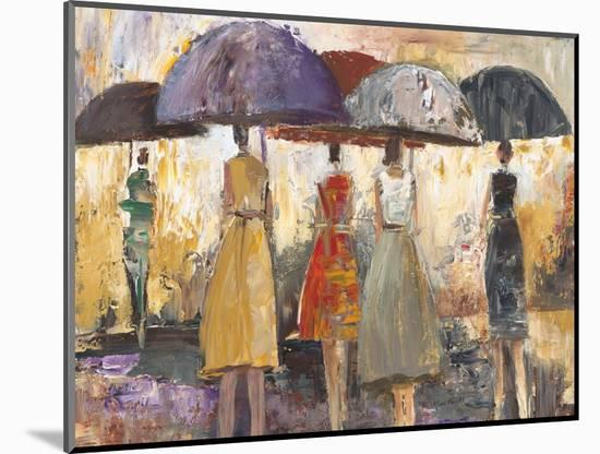 Spring Showers 2-Marc Taylor-Mounted Premium Giclee Print
