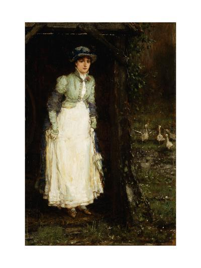 Spring Showers-George Henry		 Boughton-Giclee Print