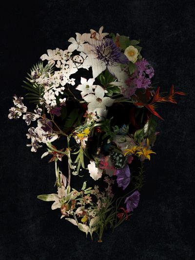 Spring Skull 2-Ali Gulec-Art Print