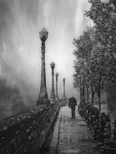 Spring Snow-David Senechal Photographie-Photographic Print