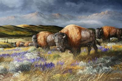 Spring Storm's Passing-Trevor V. Swanson-Giclee Print