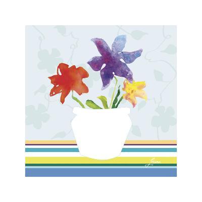 Spring Stripes II-Karen Lorena Parker-Giclee Print