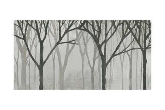 Spring Trees Greystone IV-Kathrine Lovell-Art Print