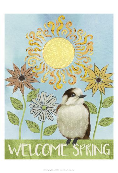 Spring Welcome I-Grace Popp-Art Print