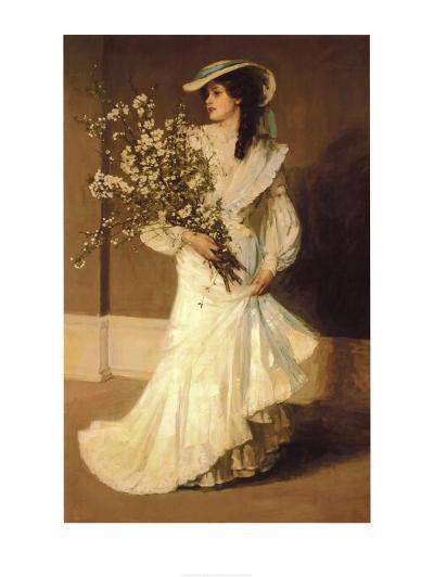Spring-Sir John Lavery-Art Print