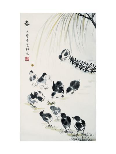 Spring-Guozen Wei-Giclee Print