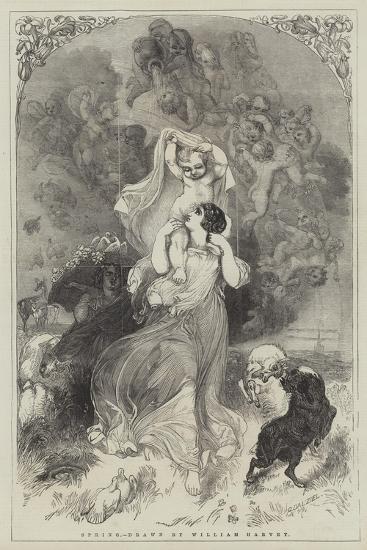 Spring-William Harvey-Giclee Print