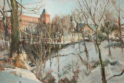 Springhead, Near Oldham-George Sykes-Giclee Print