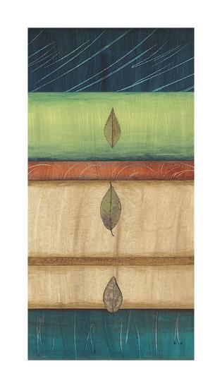 Springing Leaves I-Laurie Fields-Giclee Print