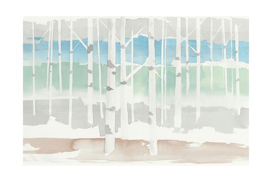 Springlake Aspens Green Crop-Avery Tillmon-Art Print