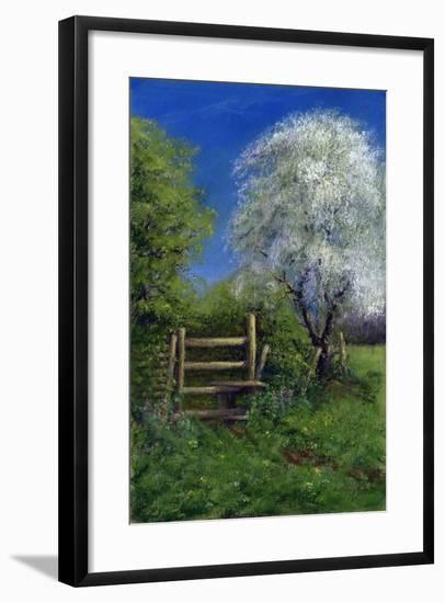 Springtime by the Stile, 2013-Anthony Rule-Framed Giclee Print