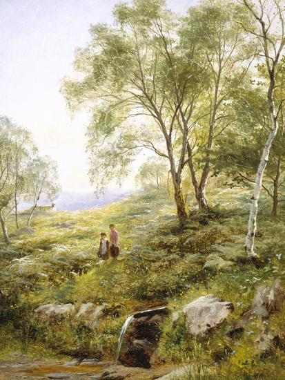 Springtime in Wales-Benjamin Williams Leader-Giclee Print