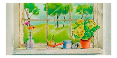 Springtime Vista-Vicente Bueno-Art Print