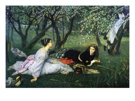 Springtime-James Tissot-Art Print