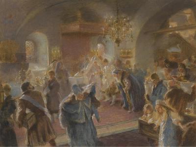 Sprinkling the Hops-Konstantin Yegorovich Makovsky-Giclee Print