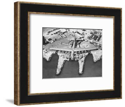 Spruce Goose Cruising--Framed Photographic Print