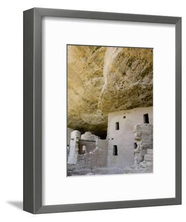 Spruce Tree House Ruins, Mesa Verde National Park, Colorado, USA-Cindy Miller Hopkins-Framed Photographic Print